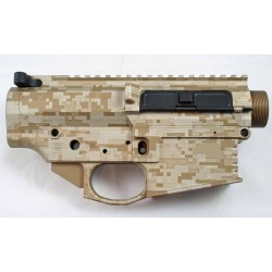 Black Rain Ordnance FALLOUT10 Billet 308 Lower / Upper Set - Digital Tan - Anodized