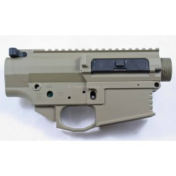 Black Rain Ordnance FALLOUT10 Billet 308 Lower / Upper Set - FDE