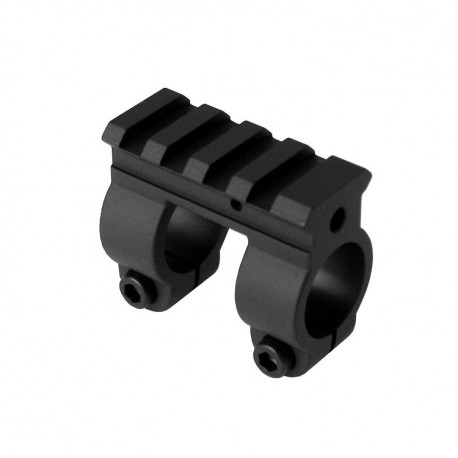 YHM Railed AR15 .625 Gas Block for pencil barrel - 9386A