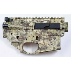 Black Rain FALLOUT15 AR15 Billet Lower / Upper Set - Kryptec Highlander