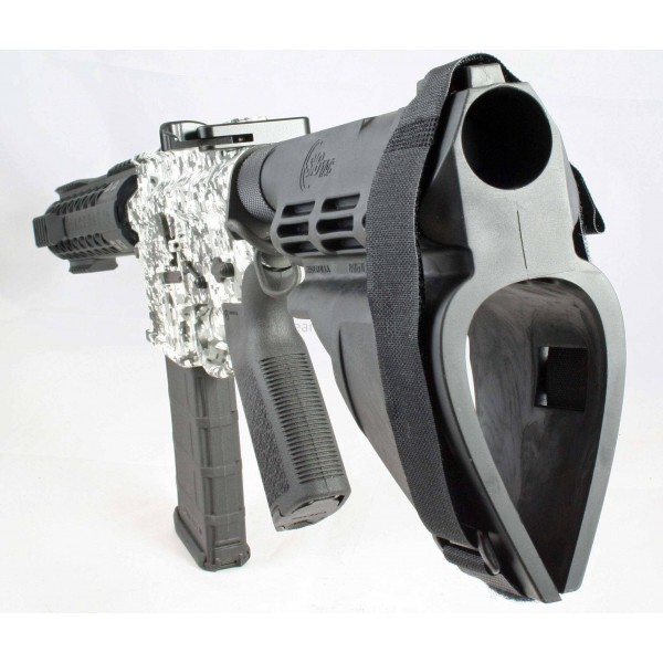 "Black Rain 7.5"" 5.56 AR15 Pistol Black & White Digital"
