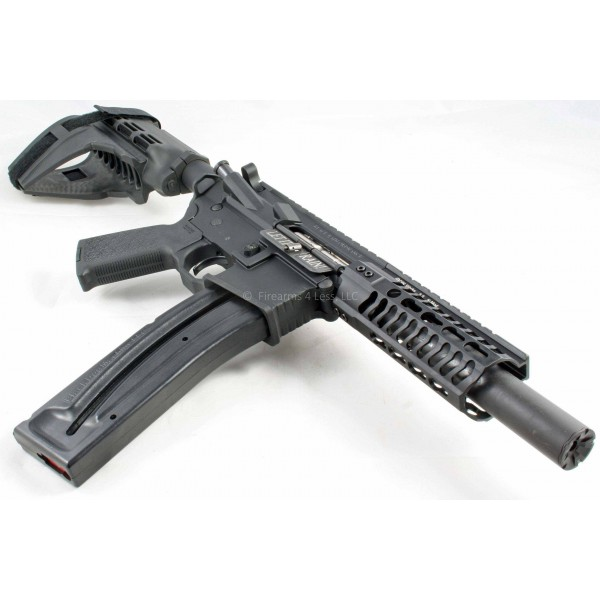 "Black Rain / CMMG 4.5"" AR15 22LR Dedicated Upper"