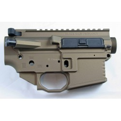 Black Rain AR15 Billet Lower / Upper Set - Burnt Bronze