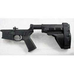 Black Rain AR15 Pistol Lower w/ Sig SB15 Brace & Odin Works SB-PT