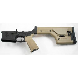 Armalite AR10 Lower Complete w/ PRS Stock FDE