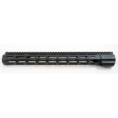 "Mega Arms 16"" Mega Extended Rifle Length Wedge Lock M-LOK Rail for AR15"