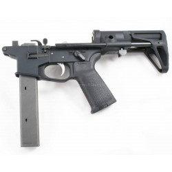 Quarter Circle 10 9mm Complete AR15 Lower w/ Maxim CQB - Colt Pattern