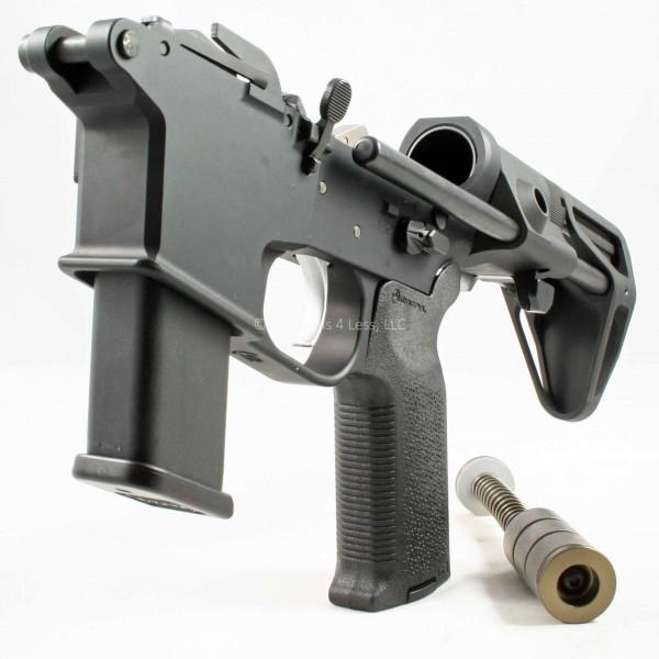 Quarter Circle 10 GSF 9mm Complete AR15 Lower/Upper w/ Maxim CQB