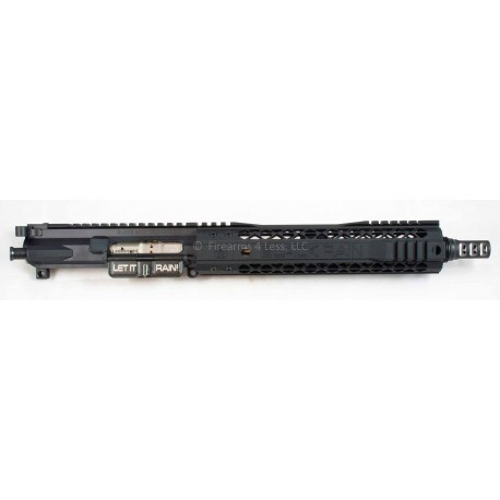 "Black Rain / Odin Works 10.5"" AR15 Complete Billet 300 Blackout SBR / Pistol Upper (300 BLK)"