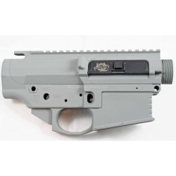 Black Rain 308 Lower / Upper Set - Cerakote Smith's Grey