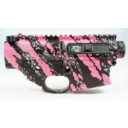 Black Rain 308 Lower / Upper Set - Pink Splash