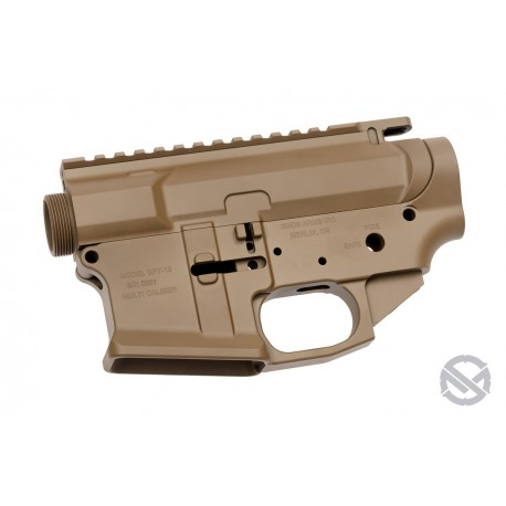 SMOS GFY Billet AR15 Receiver Set - Patriot Brown