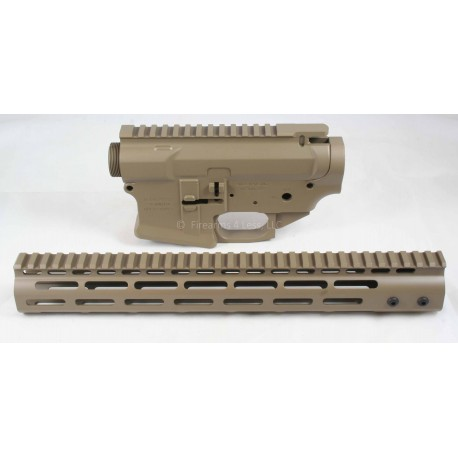 SMOS GFY Billet AR15 Builder Set - FDE - FREE Coaster