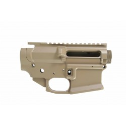 SMOS GFY Billet AR15 Receiver Set - FDE