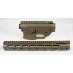 SMOS GFY Billet AR15 Builder Set - Patriot Brown
