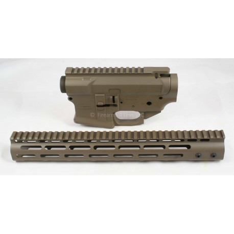 SMOS GFY Billet AR15 Builder Set - Patriot Brown - FREE Coaster