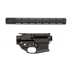 SMOS GFY Billet AR15 Builder Set - Black