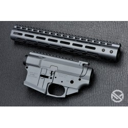 SMOS GFY Billet AR15 Builder Set - Sniper Grey