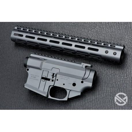 SMOS GFY Billet AR15 Builder Set - Sniper Grey