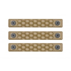 Railscales HTP Scales Honeycomb FDE M-LOK (3 pack)