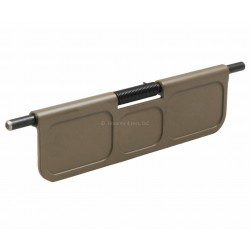 SMOS Billet Dust Cover for AR15 FDE - Pocketed