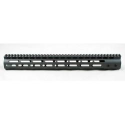 """SMOS AR15 15"""" GFY M-LOK Rail - Sniper Grey"""
