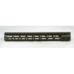 "SMOS AR15 15"" GFY M-LOK Rail - Patriot Brown"