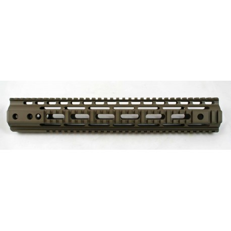 "SMOS AR15 SMR 13.6"" Quad Rail - Patriot Brown"
