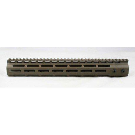 SMOS AR15 13.6 GFY M-LOK Rail - Patriot Brown