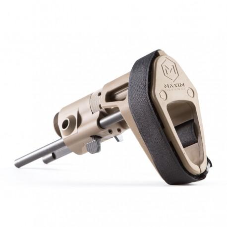 Maxim CQB Pistol / PDW Brace w/ JP Buffer FDE