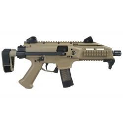 CZ Scorpion 9mm EVO 3 S1 FDE Pistol w/ SB Tactical Pistol Brace