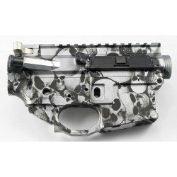 FALLOUT15 AR15 Billet Lower / Upper Set - Skulls