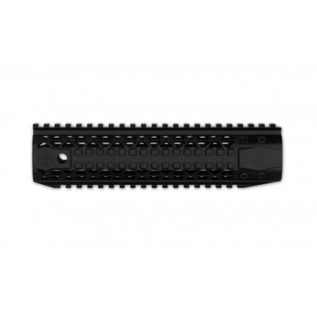 "Black Rain Ordnance AR15 Quad Rail - MidLength (9"") - Black"