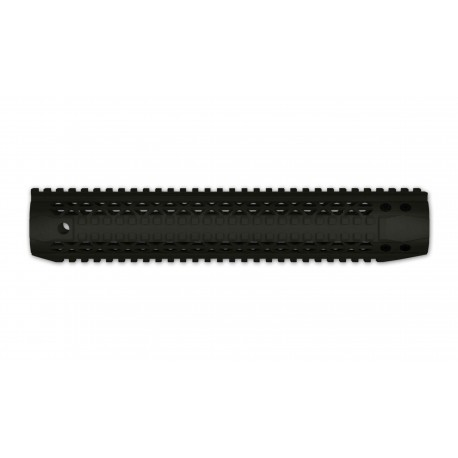 "Black Rain Ordnance Quad Rail - Rifle Length (12"") - Black"