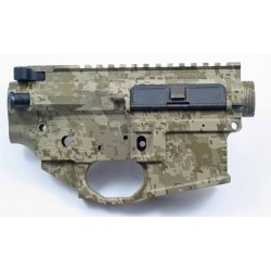 Black Rain Ordnance FALLOUT15 AR15 Billet Lower / Upper Set - DigiTan