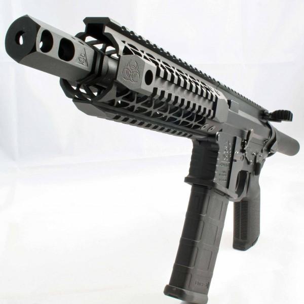 "Black Rain Ordnance 7.5"" Billet AR15 5.56 AR15 Pistol With"