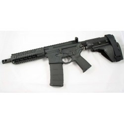 "Black Rain 7.5"" 5.56 AR15 Pistol with Sig SB15"