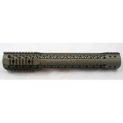 "Black Rain Ordnance Lightweight Modular Rail - AR15 15"" - FDE"