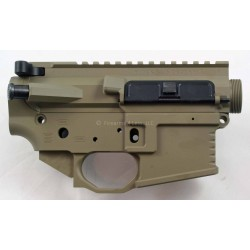 Black Rain Ordnance FALLOUT15 AR15 Billet Lower / Upper Set - FDE