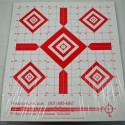 "14""x16"" Red Diamond Sight-In Targets - packet of 25"