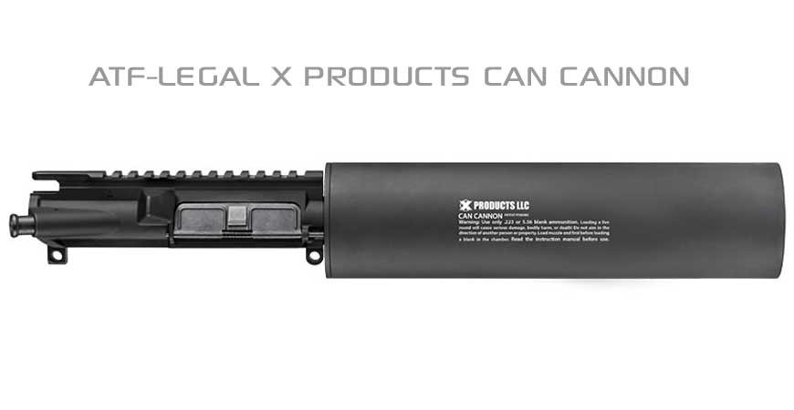 X Products Can Cannon for AR15