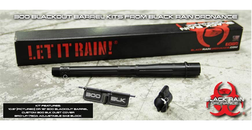 Black Rain 300 BLK Barrel Kit