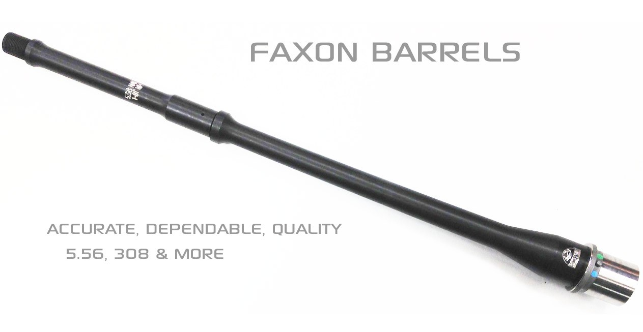Faxon Firearms AR15 and 308 AR Barrels
