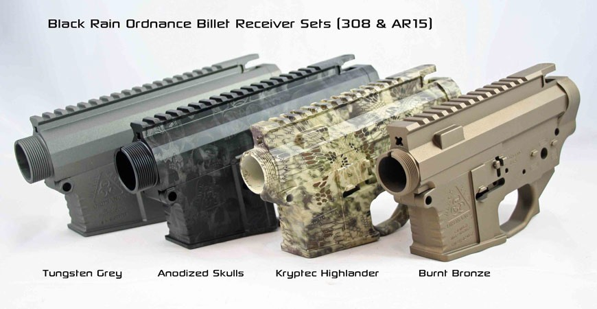 Black Rain AR15 Receiver Sets
