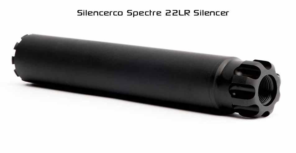 Silencerco Spectre 22LR Silencer
