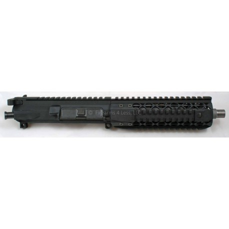 """Black Rain / Noveske 8.2"""" AR15 Complete Billet 300 BLK SBR / Pistol Upper"""