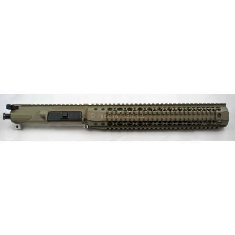 """FALLOUT15 / Noveske 10.2"""" AR15 Complete Billet 300 BLK SBR / Pistol Upper - FDE"""