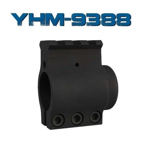 YHM Railed Bull Barrel .936 AR15 Gas Block - 9388