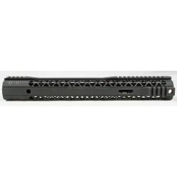 """Black Rain M-LOK Rail AR15 15"""" - Black"""