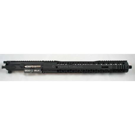 "Black Rain / LANTAC 16"" 300 Blackout Complete AR15 Upper w/ M Lok & E-BCG"